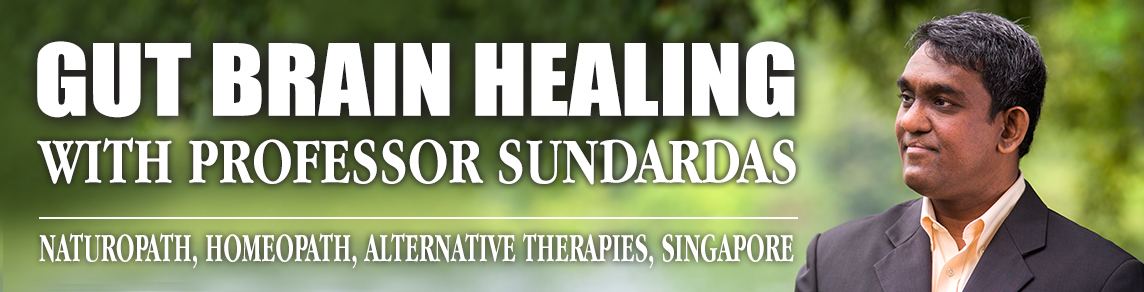 GUT BRAIN HEALING with PROFESSOR SUNDARDAS